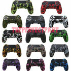 Внешний вид - Camo Silicone Rubber Skin Case Gel Cover Grip for Playstation 4 PS4 Controller