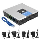 Unlocked VoIP Gateway Router ATA linksys PAP2T with 2-Ports Phone Adapter SM
