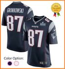 Men's New England Patriots #87 Rob Gronkowski Game Jersey Super Bowl LIII 🔥🔥🔥 on eBay