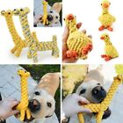 Cute Braided Animal Shape Pet Puppy Cat Molar Cotton Knot Rope Chew Toy Dog ZYI