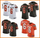 Kyпить Baker Mayfield #6 Cleveland Browns Men's Jersey Authentic stitched 4 Color S-3XL на еВаy.соm