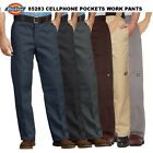 Внешний вид - Dickies Men's 85283 Loose Fit Double Knee Cell Phone Pocket Work Pants