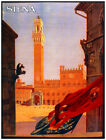 7727.Decoration Poster.Home Room wall interior design.Siena.Mangia Tower.Italy