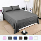 Flat / Top Bed Sheets Only 300 Thread Count Egyptian Cotton 1-Piece image