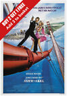James Bond - A View To A Kill Movie Poster - A6 A5 A4 A3 £0.99 GBP on eBay