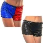 Sexy Hotpants Sequin Casual Party Stretch Shorts Hot Pants Harlequin Festival
