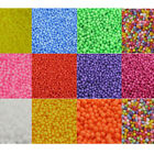 Coloured Styrofoam Balls Filler Beads Fun Crafts Polystyrene Foam (2.5mm-3.5mm)