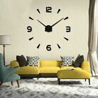 Wall Clock Creative Home Decoration Time Living Room Fashion Mirror Design Large
