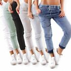 10930 Damen Jeans JEWELLY by LEXXURY Joggpants Slim Hose Boyfriend Gummizug