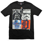 MLB Youth Detroit Tigers Star Wars Main Character T-Shirt, Black on Ebay