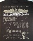 US Navy Submarine Service T-Shirt Made in the USA Sub Vet STRIKE FIRST America image