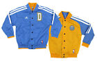 Adidas Denver Nuggets NBA Boys Youth On Court Reversible Jacket, Blue/ Yellow on eBay