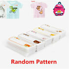 6 24Pcs Cotton Iron On Labels Clothes Fabric Laundry Name Tags School Kid Camp