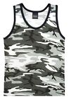 City Camo Urban TANK TOP Muscle Shirt PT Work Out US Marine Corps USMC Army S-2X image