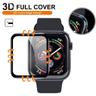 2-PACK Tempered Glass Screen Protector For Apple Watch Series 1-6 SE 38/40/42mm