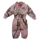 Browning Realtree PInk Camo Owlet Snowsuit - Girls Toddler Camouflage Snow Pants