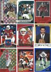 2018 Donruss NFL Football Inserts Pick Your Cards Fill your Set Parallel Cards