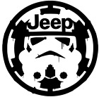 Star Wars Storm Trooper over Empire Sticker Vinyl Decal Car Laptop Window $2.49 USD on eBay