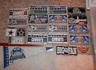 Dallas Cowboys lots magnet window cling new vtg XXVIII pennant License plate lot $22.75 USD on eBay