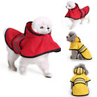 Pet Cat Dog Raincoat Reflective Strip Clothing Puppy Dog Costume Pet Accessories