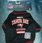 NFL Tampa Bay Buccaneers Dog T-Shirt (FREE & FAST SHIPPING) $10.99 USD on eBay