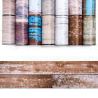 Rustic Wood Textured Contact Paper DIY Self Adhesive Wallpaper Rolls Stickers $14.12 USD on eBay
