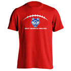 University of West Georgia UWG Wolves Football Laces Out Short Sleeve T-Shirt