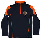 Outerstuff Youth NFL Chicago Bears Lightweight 1/4 Zip Pullover $14.99 USD on eBay