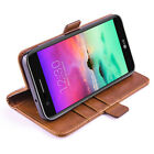 For LG Stylo 3 4 /Stylus 3 4 Plus Leather Wallet Flip Case Cover Tempered Glass