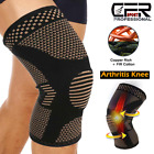 Copper Knee Brace Support Compression Sleeve Football Joint Pain Arthritis Strap $7.31 USD on eBay