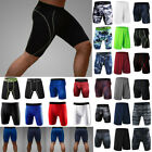 Mens Compression Under Base Layer Sport Running Shorts Pants Exercise Gym Jogger