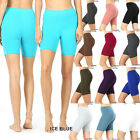 Внешний вид - Women's Fitness Bike Shorts Soft Stretch Leggings Cotton Spandex Workout Yoga