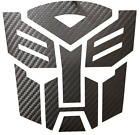 Transformers Autobot Decal - Quality Air Release Vinyl Carbon Fiber Metallic