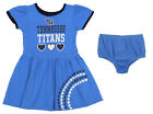 Outerstuff NFL Toddler Girls Tennessee Titans Love Dress Two Piece Set