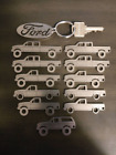 1992-1997 9th Generation OBS Ford F-Series Truck Keychains