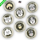 Magnetic Golf Ball Marker Dogs Ball Markers 3mm Thickness US Ship New