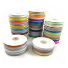 10mm GROSGRAIN RIBBON 25 METRE SPOOL *39* COLOURS WEDDING DUMMY CRAFT GROSSGRAIN