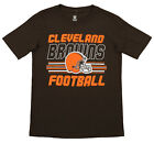 Outerstuff NFL Youth Cleveland Browns Team Color Short Sleeve Tee $9.99 USD on eBay