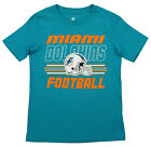 Outerstuff NFL Youth Miami Dolphins Team Color Short Sleeve Tee $9.99 USD on eBay