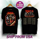 Kiss 'End of the Road' World Tour Dates 2019 Kiss T-shirt tee all size image