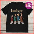The Golden Girls T Shirt And The Beatles T-shirt Black Cotton Size S-3XL image