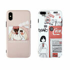 Cartoon CocaCola Girl Silicone Phone Case Cover For iPhone XR XS Max 8 7 6 Plus $4.36  on eBay
