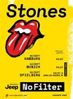 Rolling Stones 2017 NO FILTER Tour Prints 24 Designs - NOT ZIP CODE / 14 ON FIRE