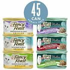 Purina Fancy Feast Variety Pack Wet Cat Food - (45) 3 oz. Cans NEW