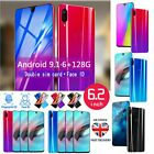 New 6.2'' X23-3 6g+128g Android 9.1 Face Unlock Wifi Smartphone Sim Mobile Phone