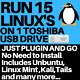 15 in 1 Multiboot Linux 32GB Live USB Ubuntu Mint Kali Tails  and many more
