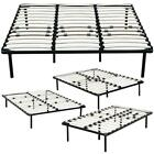 Twin to King Size Wood Metal Bed Frame Platform Bedroom Mattress Foundation NEW