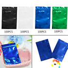 100X Colorful Foil Zip lock Pouches Food Storage Zipper Bags Smell Proof LSD