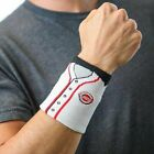 Fan Band MLB Wristband Sweat Band with Embroidered Designs, Collectible on Ebay