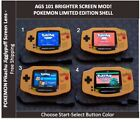 Kyпить Nintendo Game Boy Advance GBA POKEMON System AGS 101 Backlit Mod -Pikachu Lens на еВаy.соm